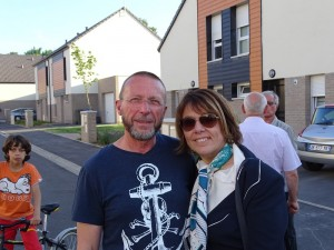 Avec Anne-Lise Dufour Député Maire de Denain