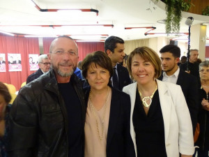 19 03 2015 avec Martine AUBRY et Anne Lise DUFOUR