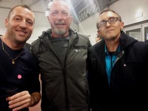 avec Romuald et Jeff  du FN B